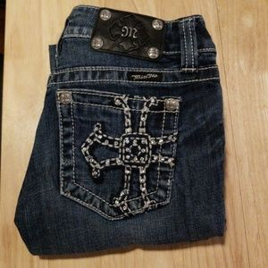 Miss Me studded bootcut jeans